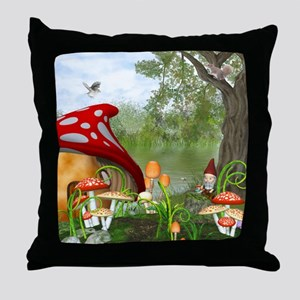 dl_Square Canvas Pillow Throw Pillow
