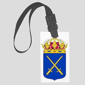 Swedish Army COA Large Luggage Tag