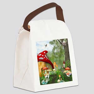 dl_queen_duvet_2 Canvas Lunch Bag