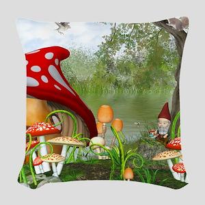 dl_queen_duvet_2 Woven Throw Pillow