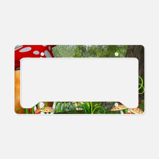 dl_Rectangular Canvas Pillow License Plate Holder