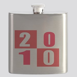 Established 2010 Designs Flask
