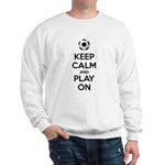 Keep Calm and Play On Sudaderas