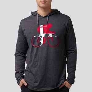 Danish Cycling Mens Hooded Shirt