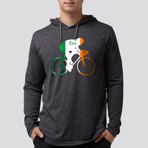 Irish Cycling Mens Hooded Shirt