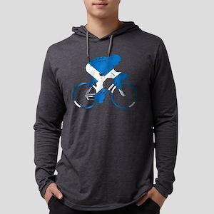 Scotland Cycling Mens Hooded Shirt