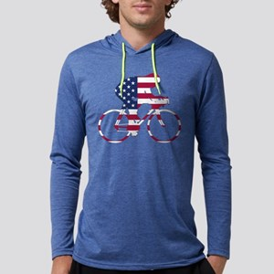 U.S.A. Cycling Mens Hooded Shirt