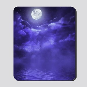 Clouds-Purple-Midnight-Moon-2 Mousepad