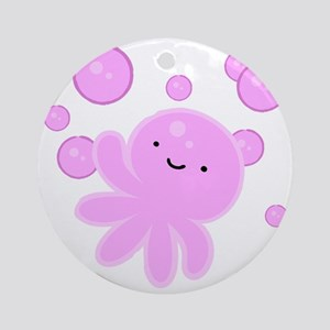 Octobubble Round Ornament