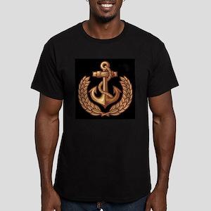 Black and Orange Anchor T-Shirt