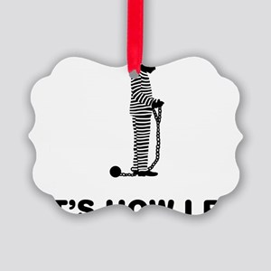 Inmate-12-A Picture Ornament