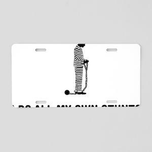 Inmate-03-A Aluminum License Plate