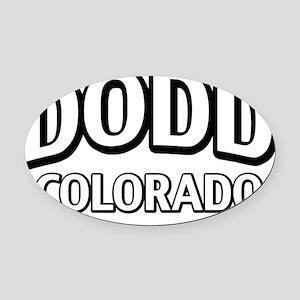Dodd Colorado Oval Car Magnet