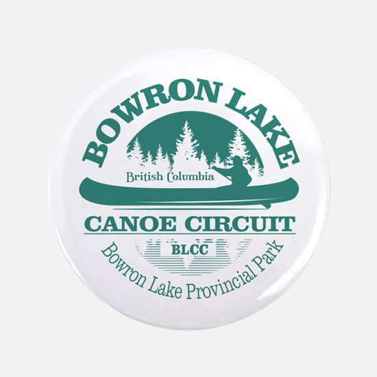 "Bowron Lake Canoe Circuit 3.5"" Button"