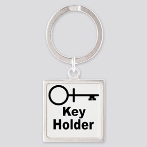 Key-Holder Square Keychain