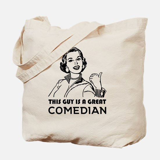Unique Comedian Tote Bag
