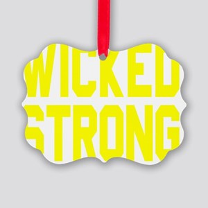 Wicked Boston Strong Picture Ornament