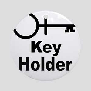 Key-Holder Round Ornament