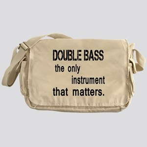Double Bass the only instruments tha Messenger Bag