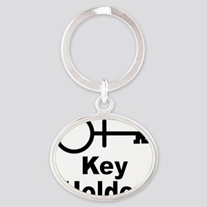 Key-Holder Oval Keychain