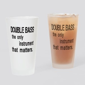 Double Bass the only instruments th Drinking Glass