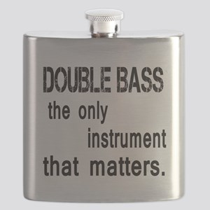 Double Bass the only instruments that matter Flask