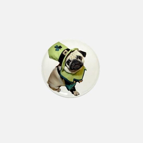 Unique I love pugs Mini Button