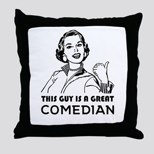 Gifts for comedians. *BEST SELLER* Throw Pillow