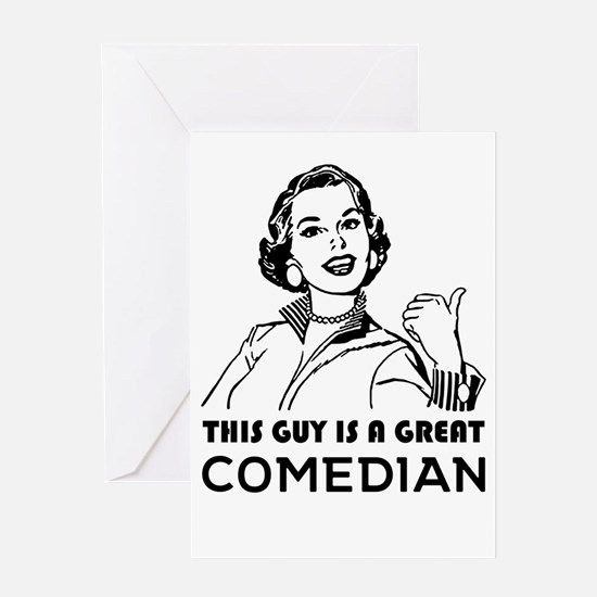 Gifts for comedians. *BEST SELLER* Greeting Cards