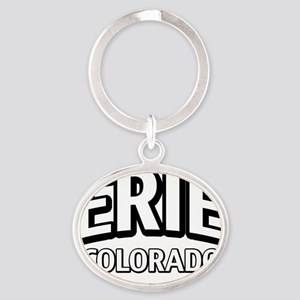 Erie Colorado Oval Keychain