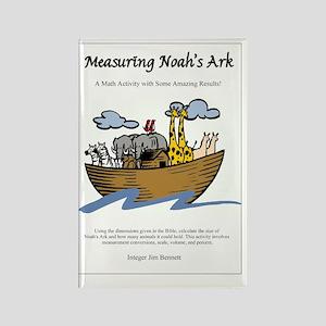 Measuring Noahs Ark Rectangle Magnet