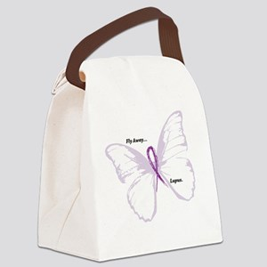 fly away...lupus Canvas Lunch Bag