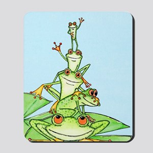 Happy Frog Stack Mousepad