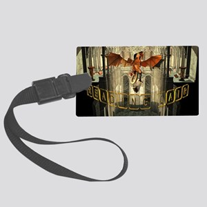 reading Lair Large Luggage Tag