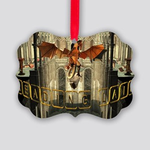 reading Lair Picture Ornament