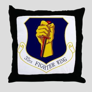 35th FW Throw Pillow