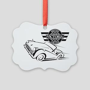 VBCC British Classic BW Picture Ornament