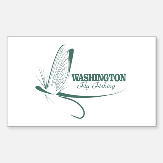 Washington Fly Fishing Decal