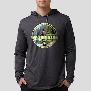 Washington Fly Fishing Long Sleeve T-Shirt