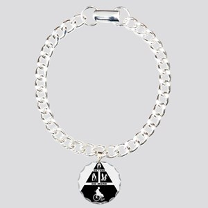 Physically-Challenged-11 Charm Bracelet, One Charm