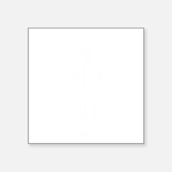 "Auctioneer-11-B Square Sticker 3"" x 3"""