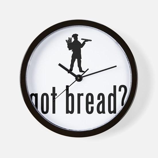 Baker-02-A Wall Clock