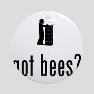 Beekeeper-02-A Round Ornament