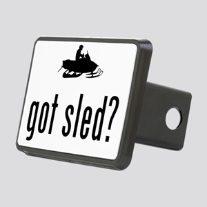 Snowmobile-02-A Rectangular Hitch Cover