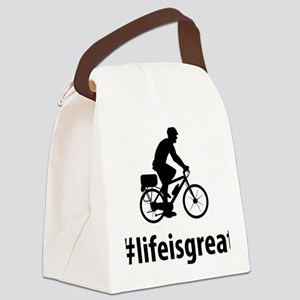Bicycle-Police-06-A Canvas Lunch Bag