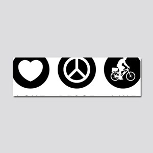 Bicycle-Police-07-A Car Magnet 10 x 3