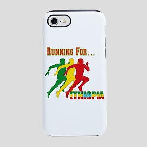 Running Ethiopia iPhone 7 Tough Case