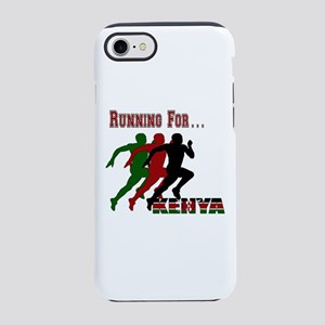 Kenya Running iPhone 7 Tough Case