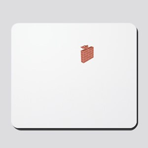Bricklayer-02-B Mousepad