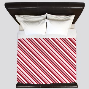 Candy Cane Stripe King Duvet